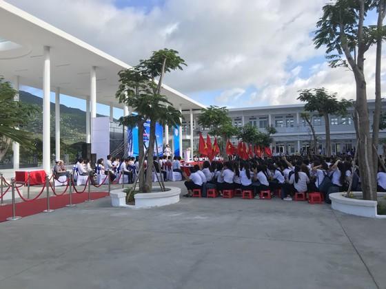 Trungnam Group bàn giao ngôi trường 60 tỷ đồng cho Ninh Thuận trong ngày khai giảng   ảnh 2