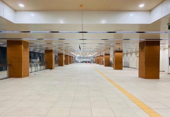 Tuyến Metro số 1 bàn giao mặt bằng Công viên Lam Sơn trước Nhà hát Thành phố sớm hơn tiến độ ảnh 1