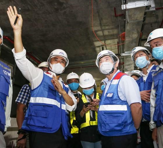 Phấn đấu cuối năm 2021 đưa vào vận hành thương mại tuyến metro số 1 Bến Thành - Suối Tiên  ảnh 3