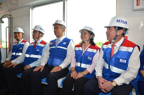 TPHCM ra mắt đoàn tàu metro số 1 ảnh 3
