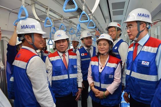 TPHCM ra mắt đoàn tàu metro số 1 ảnh 2