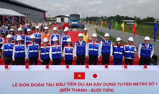 TPHCM ra mắt đoàn tàu metro số 1 ảnh 1