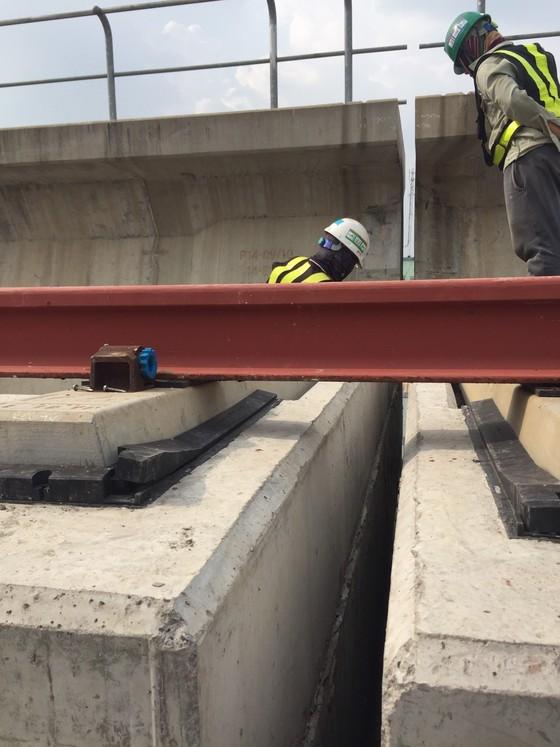 Sự cố dầm cầu tuyến metro Bến Thành - Suối Tiên đã được khắc phục ảnh 2