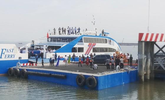 Khai trương tuyến phà biển Cần Giờ - Vũng Tàu   ảnh 3