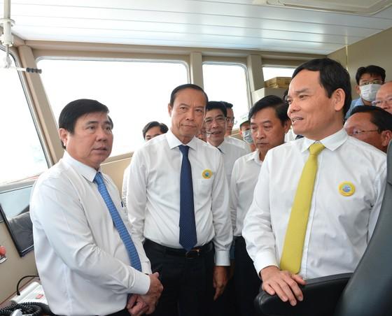 Khai trương tuyến phà biển Cần Giờ - Vũng Tàu   ảnh 5