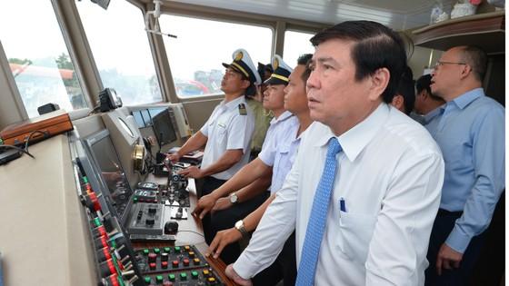 Khai trương tuyến phà biển Cần Giờ - Vũng Tàu   ảnh 6