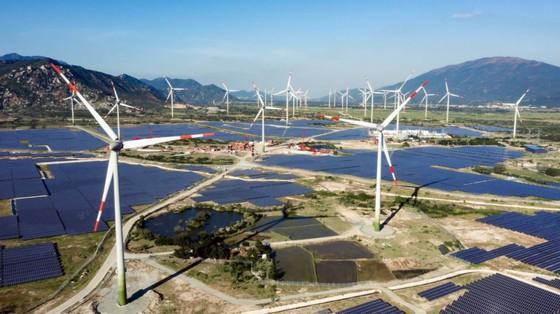 Khánh thành tổ hợp điện gió và năng lượng mặt trời lớn nhất nước ảnh 1