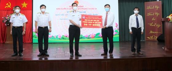 Tổng Công ty Tân cảng Sài Gòn ủng hộ 50 tỷ đồng 'Quỹ vaccine phòng Covid-19' ảnh 1