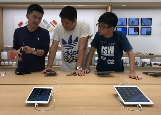 Sang trọng và gần gũi ở cửa hàng chính hãng Apple ảnh 10