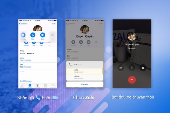 Zalo giúp gọi điện miễn phí không cần mở ứng dụng  ảnh 1