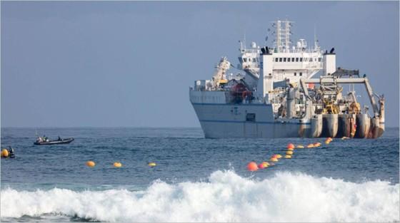 Hoàn thiện tuyến cáp hiện đại nhất xuyên Đại Tây Dương  ảnh 1