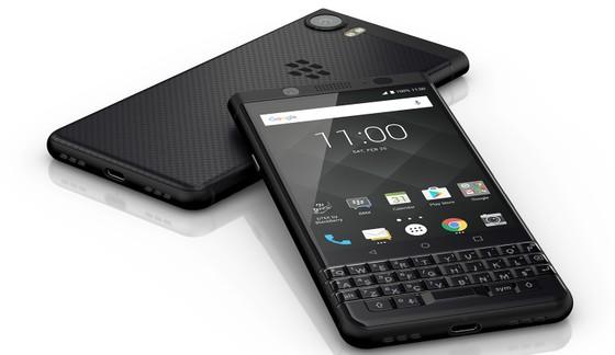 BlackBerry KEYone Black Edition được thiết kế đen hoàn toàn ảnh 2