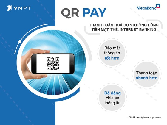 VinaPhone ứng dụng QR Code vào thanh toán ảnh 1