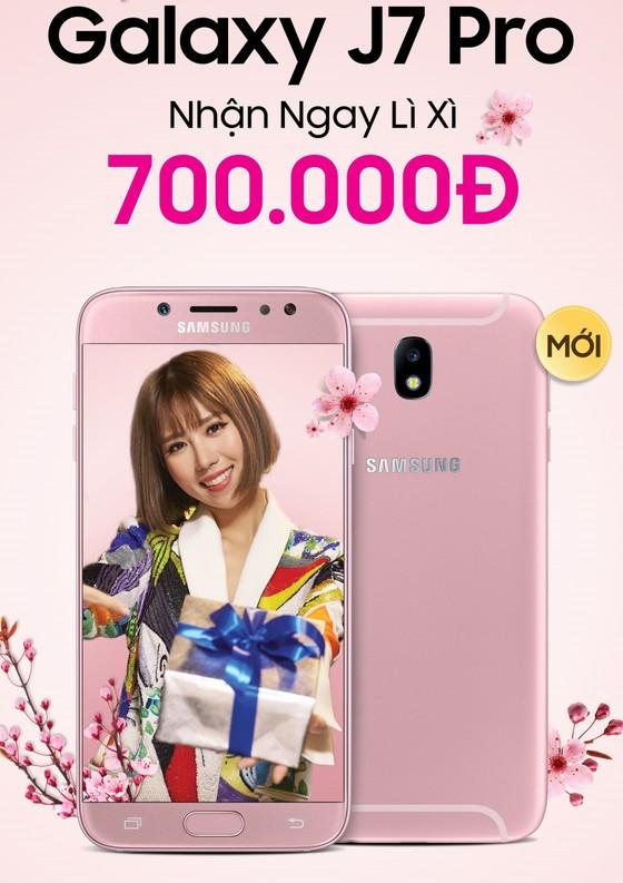 Galaxy J7 Pro màu hồng cho phái nữ ảnh 1