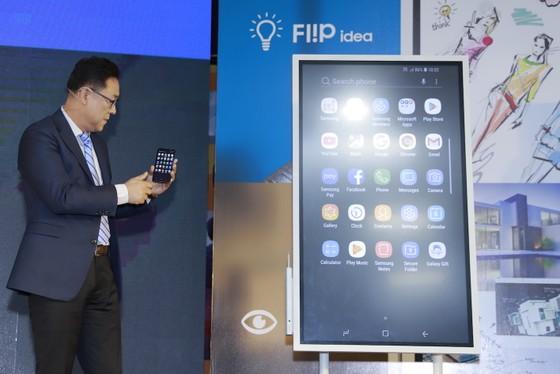 Chính thức ra mắt bảng điện tử Samsung Flip WM55H ảnh 3