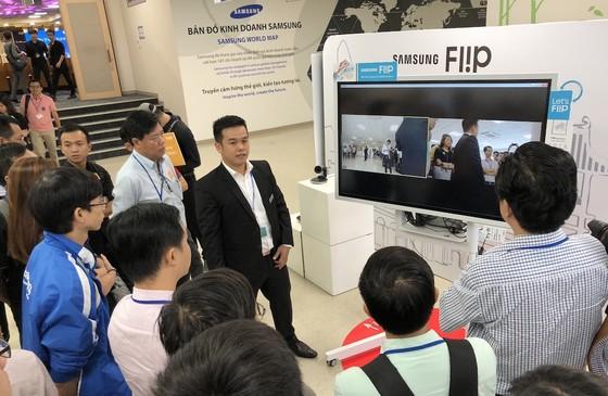 Chính thức ra mắt bảng điện tử Samsung Flip WM55H ảnh 2
