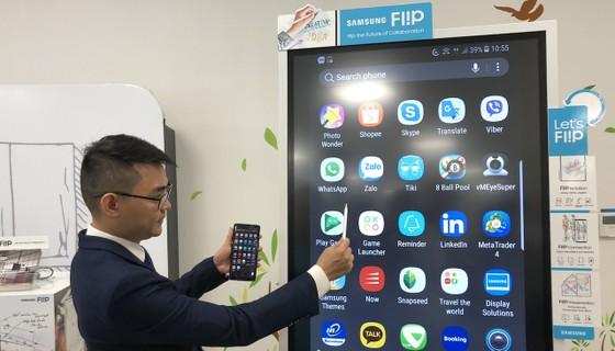 Chính thức ra mắt bảng điện tử Samsung Flip WM55H ảnh 1