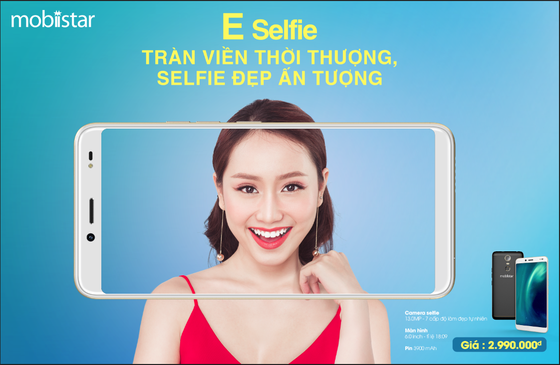 Mobiistar tung ra E-Selfie giá chưa đến 3 triệu đồng ảnh 1