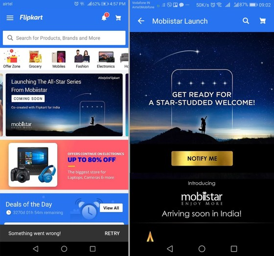 Mobiistar chính thức ra mắt tại thị trường Ấn Độ vào ngày 23-5 ảnh 1