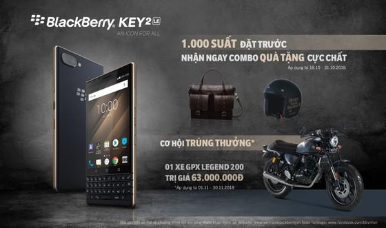 BlackBerry KEY2 LE giá 11.790.000 đồng  ảnh 2