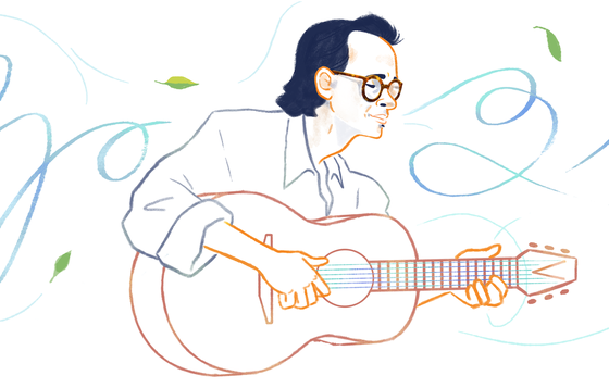 Nhạc sĩ Trịnh Công Sơn xuất hiện trên trang chủ Tiếng Việt Google ảnh 1