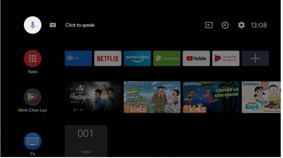 Sony Android TV - Tối ưu trải nghiệm người dùng với Google Assistant ảnh 4