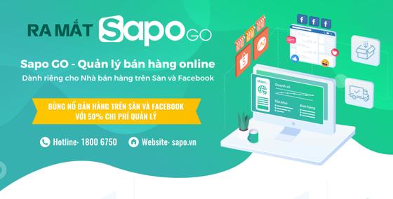 Sapo GO, giải pháp quản lý bán hàng online trên sàn TMĐT và Facebook ảnh 1