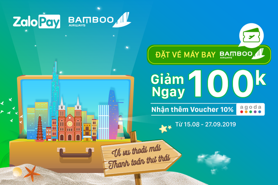 Bamboo Airways và ví điện tử ZaloPay chí hính thức ký kết thỏa thuận hợp tác ảnh 2