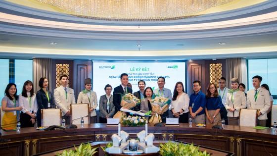 Bamboo Airways và ví điện tử ZaloPay chí hính thức ký kết thỏa thuận hợp tác ảnh 1
