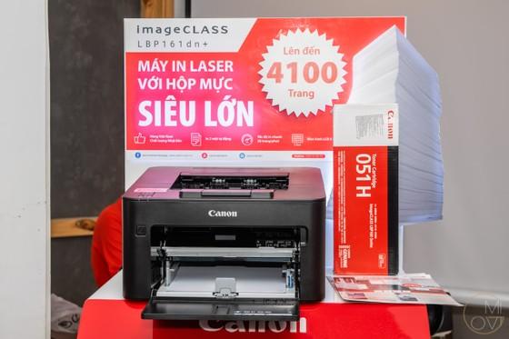 Canon LBP161dn+ là chiếc máy in laser với hộp mực siêu lớn ảnh 2
