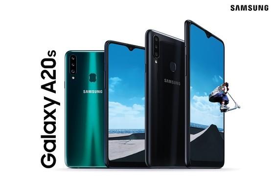 Galaxy A20s với 3 camera, pin đến 4.000mAh ảnh 3