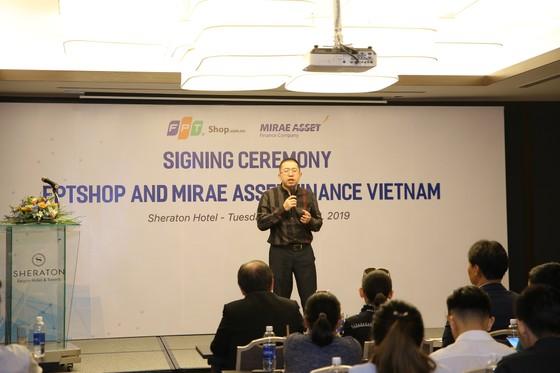 FPT Shop và Mirae Asset Finance Vietnam ký kết thỏa thuận  hợp tác toàn diện ảnh 1