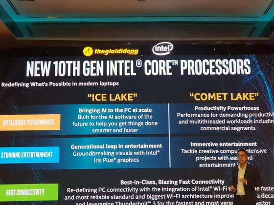Intel ra mắt vi xử lý Intel Core thế hệ thứ 10 tại Việt Nam ảnh 1