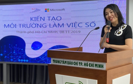 """Microsoft Việt Nam đồng hành """"Kiến tạo môi trường làm việc số"""" với các cơ quan báo chí TPHCM ảnh 2"""