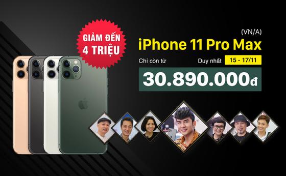 iPhone 11 Pro Max phiên bản chính hãng VNA giảm thẳng 4 triệu đồng  ảnh 1