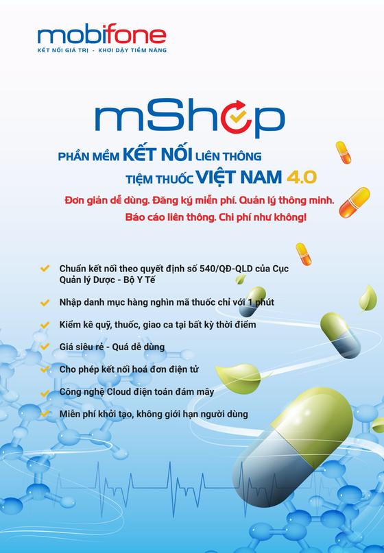 MobiFone cung cấp giải pháp quản lý tiệm thuốc, quản lý cửa hàng mShop ảnh 1