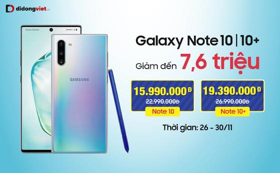 Galaxy Note 10, Note 10 Plus giảm đến 7,6 triệu ảnh 1