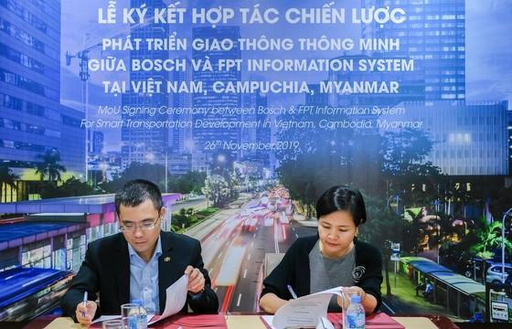 Bosch Việt Nam và FPT IS hợp tác phát triển giải pháp giao thông thông minh ảnh 1