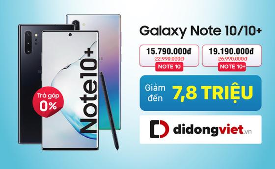 Samsung Galaxy Note 10/10+ giảm đến 8 triệu đồng ảnh 1