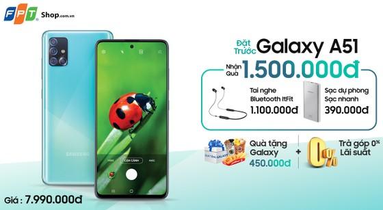 Nhận ngay bộ quà 1,5 triệu khi đặt trước Galaxy A51 FPT Shop ảnh 3