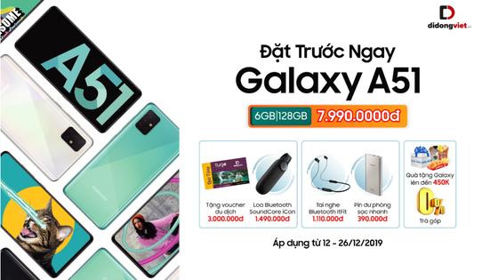Đặt trước Galaxy A51 với nhiều ưu đãi hấp dẫn tại Di Động Việt  ảnh 2
