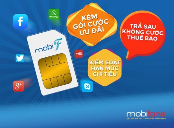 MobiFone ra mắt gói cước trả sau MobiF ảnh 1