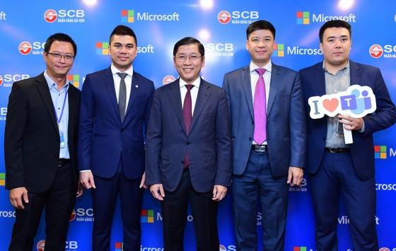 SCB số hóa môi trường làm việc bằng Microsoft Teams ảnh 1
