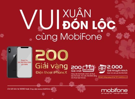 Chương trình ưu đãi 'Vui Xuân đón Lộc cùng MobiFone' ảnh 1