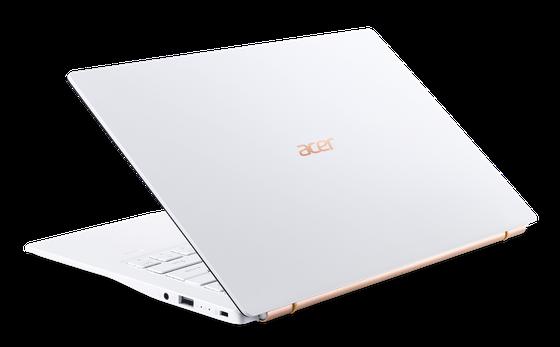 Acer Swift 5 Air Edition laptop siêu nhẹ chỉ 950 gram cùng vi xử lý Intel Core i thế hệ thứ 10 ảnh 2