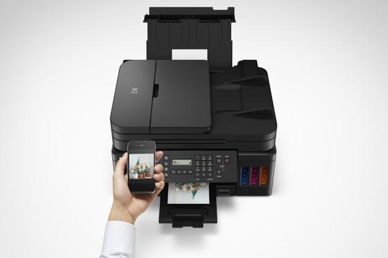 Canon ra mắt hai mẫu máy in mới dòng G Series  ảnh 1