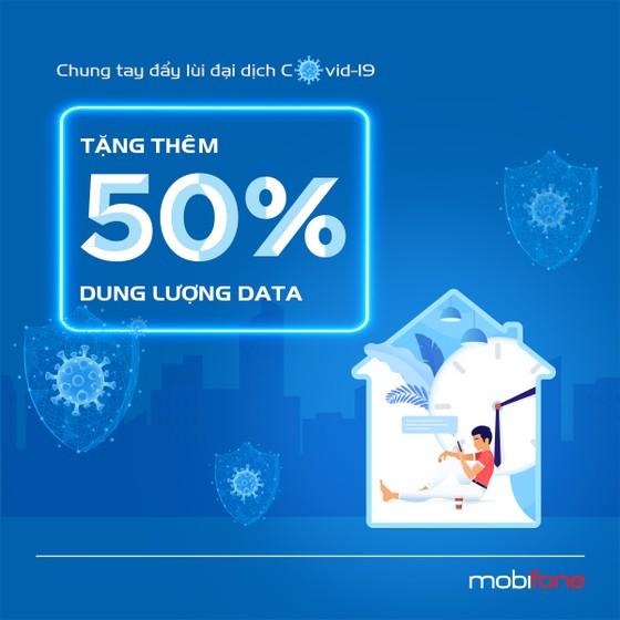 MobiFone tăng thêm 50% dung lượng data với giá không thay đổi  ảnh 2