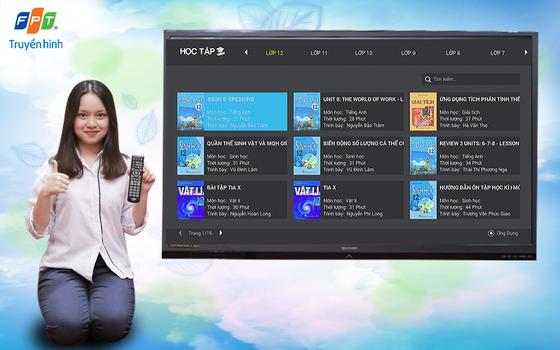 Truyền hình FPT ra mắt ứng dụng Học Tập nhằm hỗ trợ các em học sinh học trực tuyến tại nhà  ảnh 1
