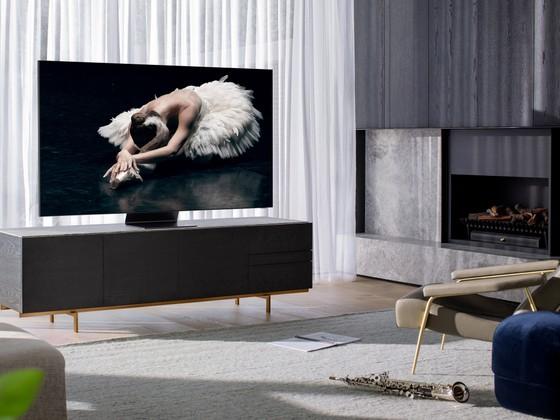 Samsung ra mắt TV QLED 8K Vô Cực đầu tiên tại Việt Nam ảnh 1