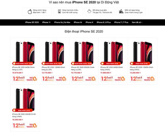 Đặt hàng iPhone SE 2020 tại Việt Nam, giá dưới 11 triệu đồng  ảnh 3